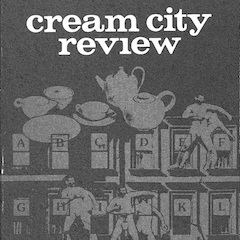 Photo of cover of Cream City Review Issue 6.1