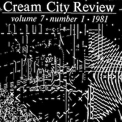 Photo of cover of Cream City Review Issue 7.1