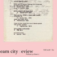 Photo of cover of Cream City Review Issue 32.2