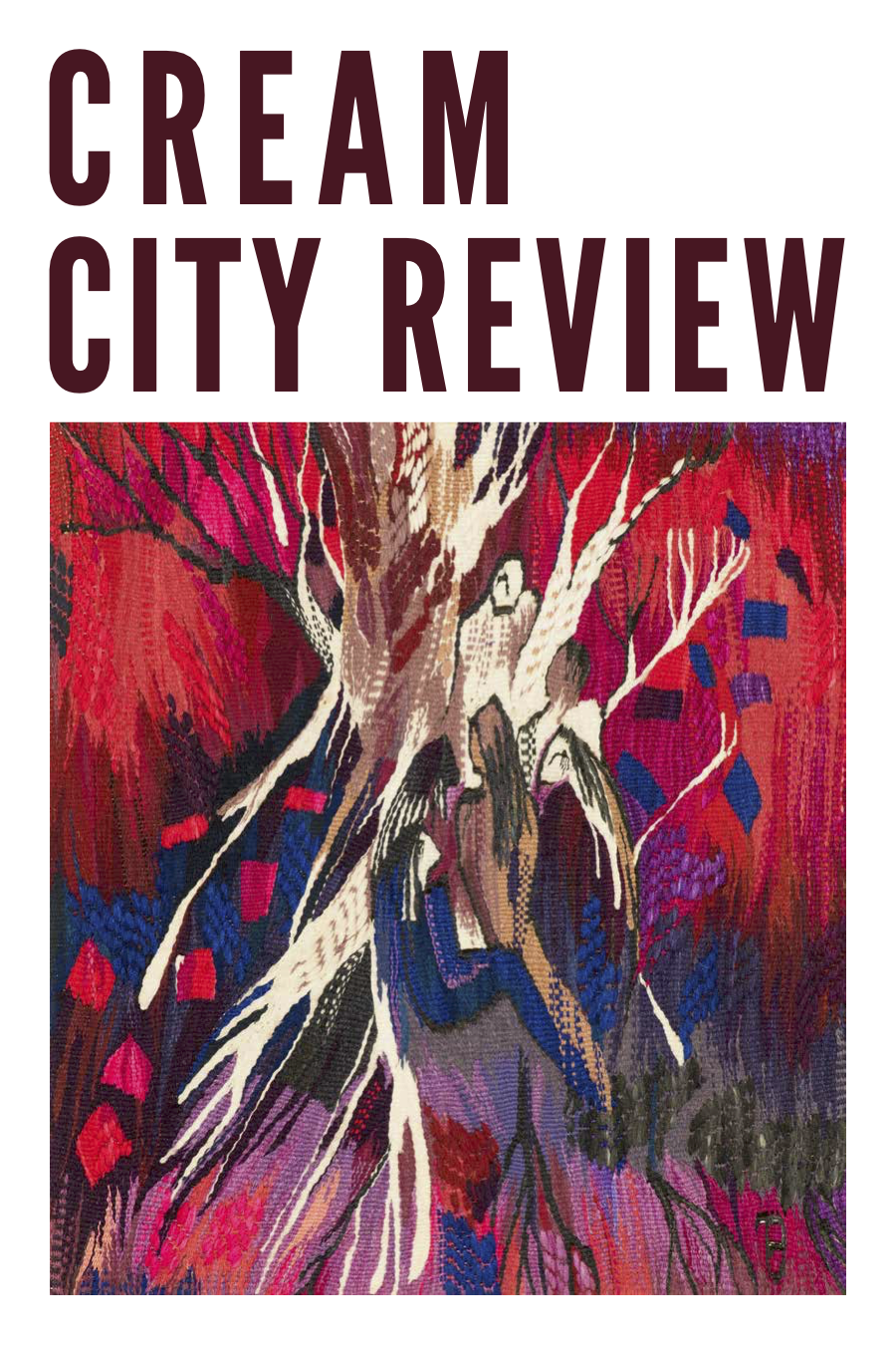 Photo of cover of Cream City Review Issue 44.2