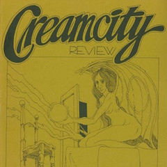 Photo of cover of Cream City Review Issue 1.3