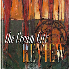 Photo of cover of Cream City Review Issue 25.0