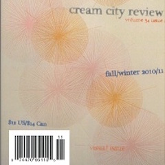 Photo of cover of Cream City Review Issue 34.2