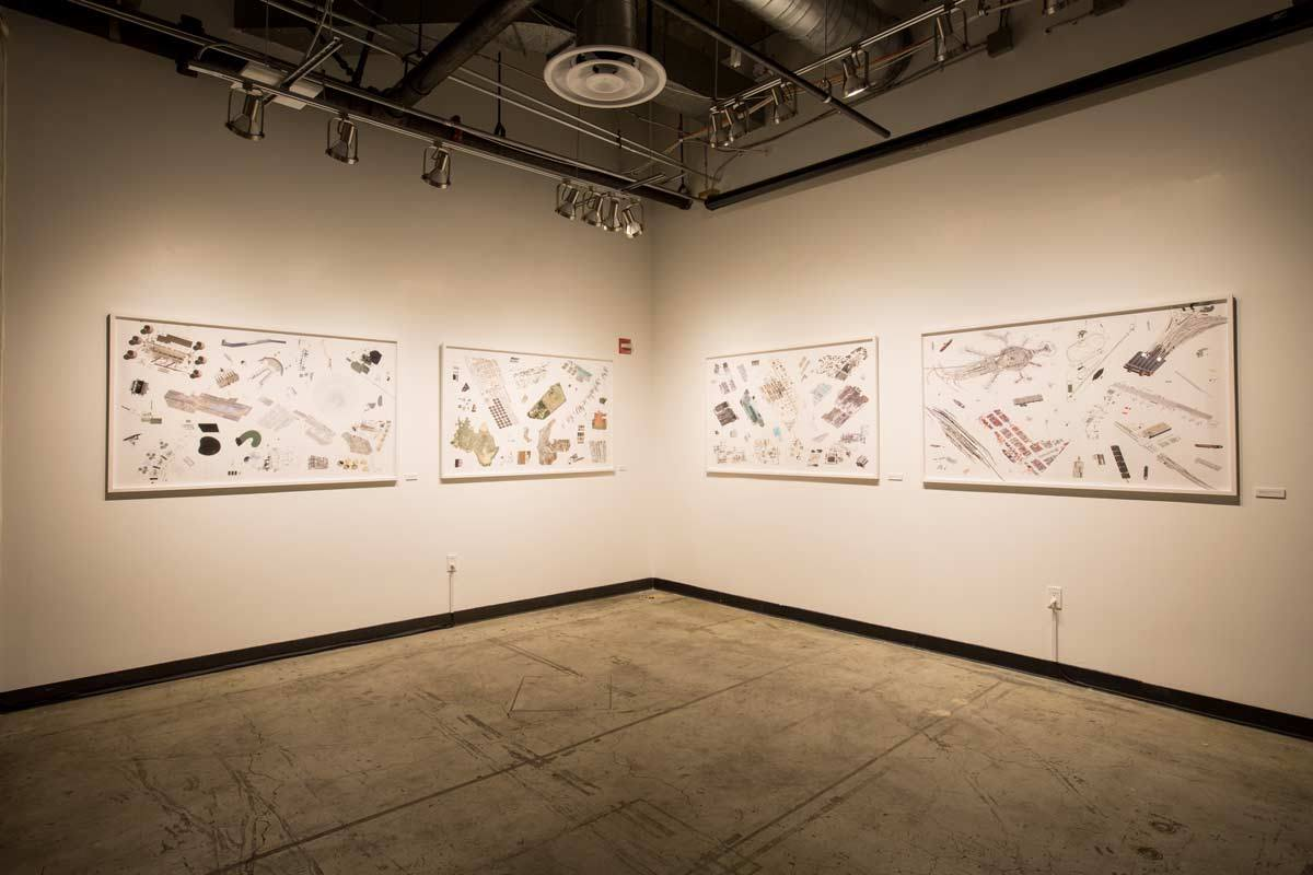Satellite Landscapes, from the artist's website. Photo: Scott Chernis