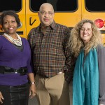 Raquel Farmer-Hinton, Michael Bonds and Marie Sandy , Re-Opening Enrollment