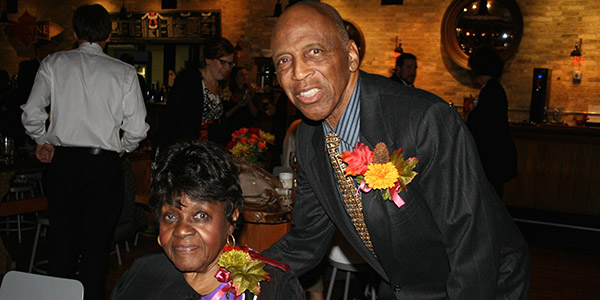 Reuben & Mildred Harpole at the Celebrate Teachers & Teaching event.