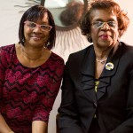 Rosale Horton and Dr. Agnes Williams