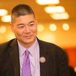 Alan Shoho at School of Education Dean's Fall Reception Union Fireside Lounge Oct. 16