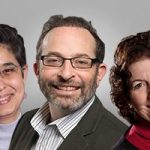 UWM faculty members Ed Levitas, Romila Singh and Nadya Fouad.