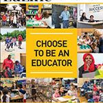 Cover of EdLine 2019, School of Education annual publication.