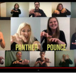 "American Sign Language Studies instructors and staff created a ""percussion song"" using the UWM Panther fight song as one way to engage students."
