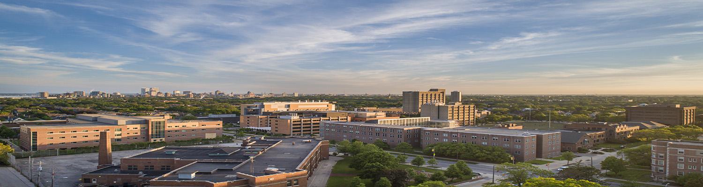View of city landscape