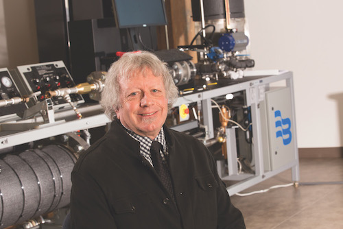 Dennis Webb at Global Water Center