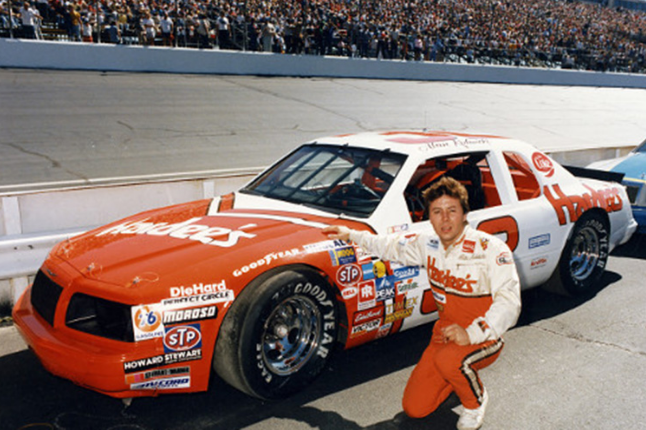 Alan Kulwicki was a NASCAR rookie of the year and the first NASCAR champion to have earned a university degree. (Photo provided)