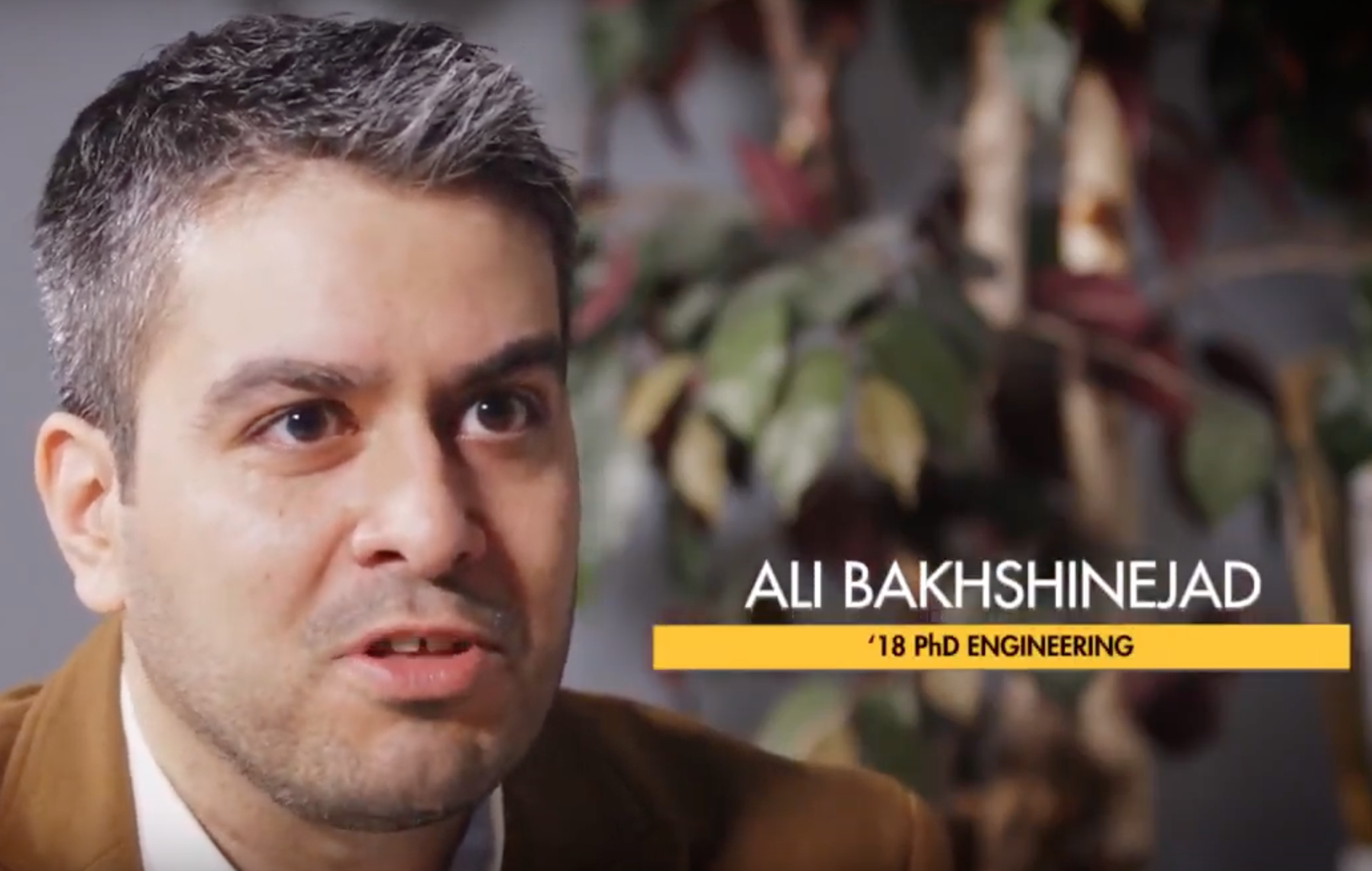 Bakhshinejad a finalist in Wisconsin Governor's Business