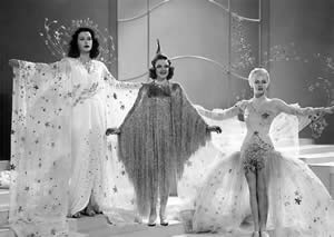 Judy Garland as a Ziegfeld Girl