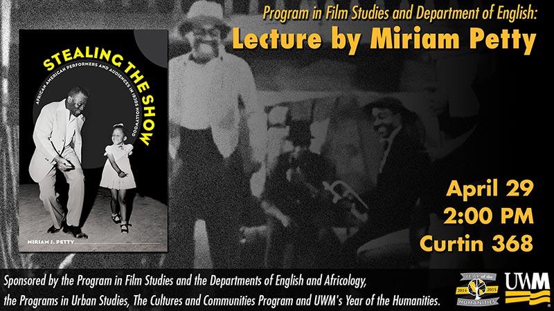Miriam Petty lecture