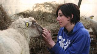 Jeune bergère (A Modern Shepherdess)