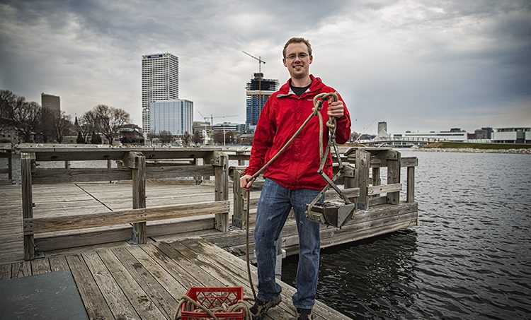 School of Freshwater Sciences graduate works to solve fresh water issues in his job with the Virginia Department of Environmental Quality
