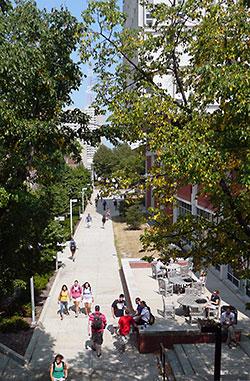 UWM Campus Scene