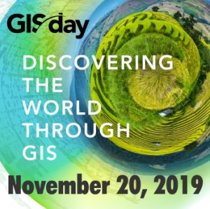 GIS Day Flyer, Event Wednesday, November 20