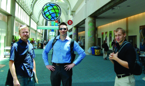 Jay Feiker, Jason Tilidetzke and Will Mobley at the 2012 Esri User Conference