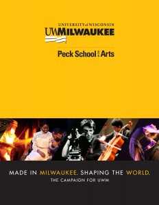 Peck School of the Arts Case Statement Cover