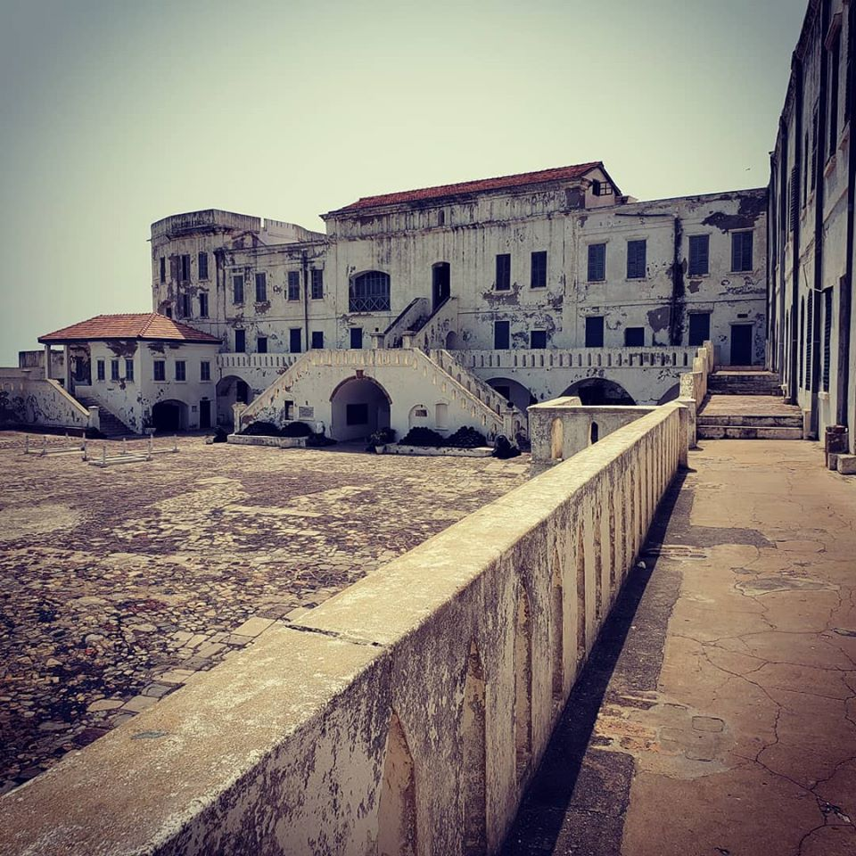 Cape Coast Castle is one of the main sites of the slave trade in West Africa. Cape Coast, Ghana.