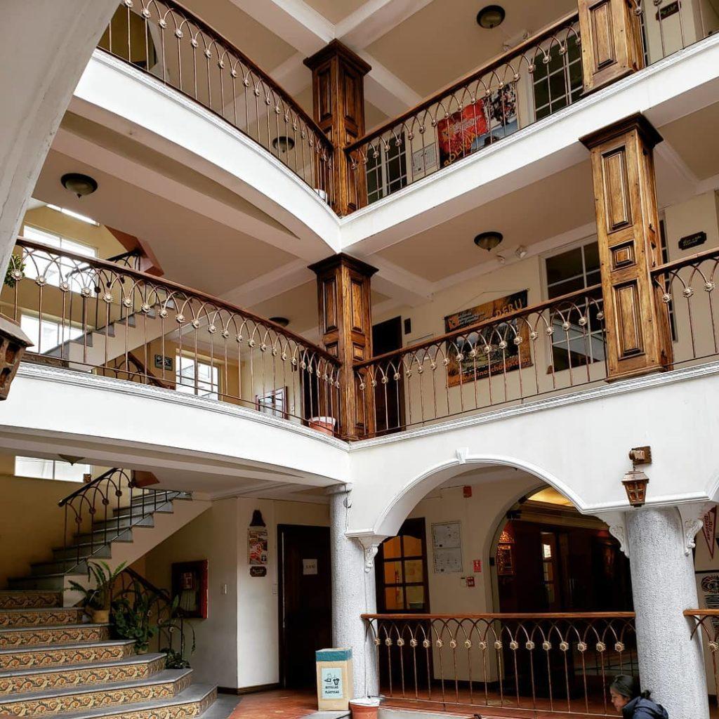 At Academia Latinoamericana De Español in Quito.