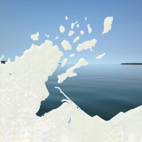 apostle islands overlay