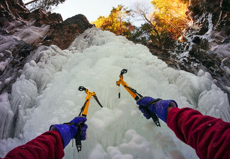 Ice Climbing Class for Credit at UWM
