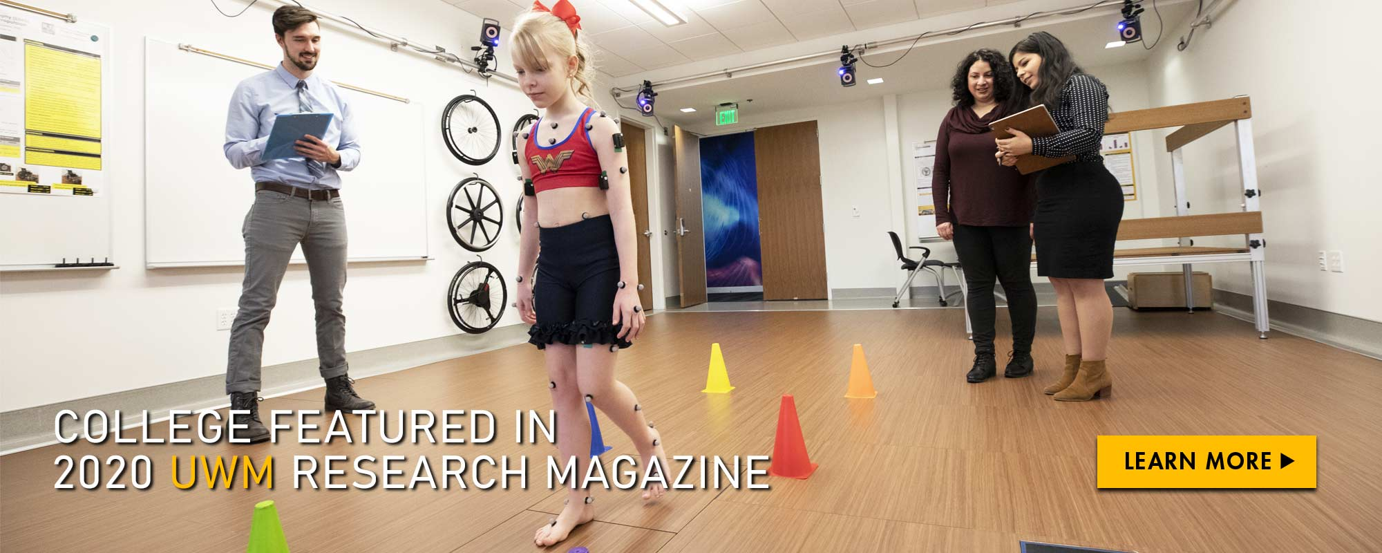 College featured in 2020 UWM Research magazine. Learn more.