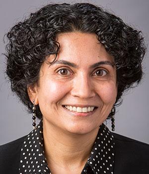 Portrait of Priya Nambisan
