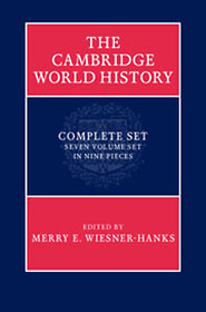 The Cambridge World History book cover