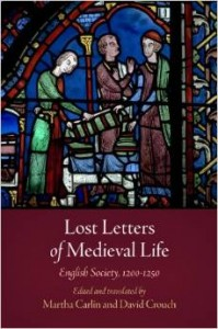 Lost Letters of Medieval Life book cover
