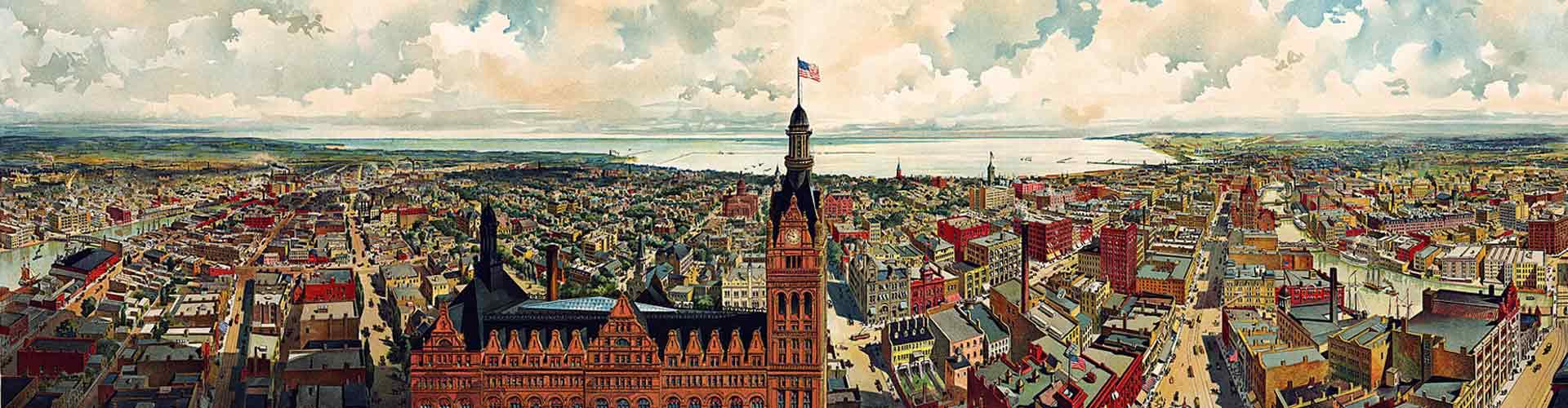 Old Milwaukee Banner