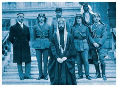 Arab military men