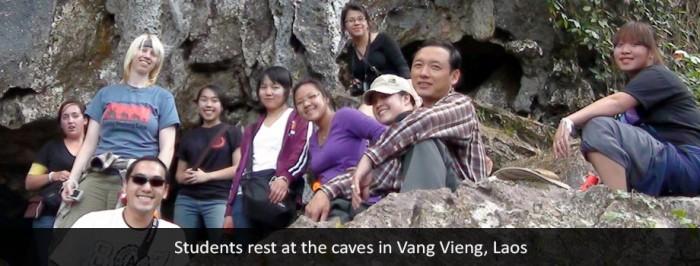 Vang Vieng, Laos caves