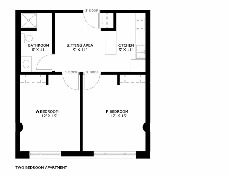 25 victory moreover 3 Bedroom Ranch Style Floor Plans furthermore 1 Bedroom 1 Bath House Plans moreover Studio Apartments 300 Square Feet Floor Plan together with 148337381456246516. on 1 bedroom apartment plans