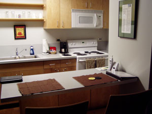Kenilworth Guest Housing Kitchen