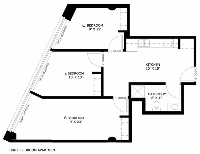 Kenilworth Square Apartments University Housing