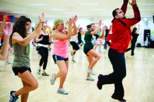 Recreational Sports and classes in the Klotsche Pavilion: Zumba