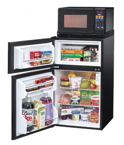 microwaves and refrigerators