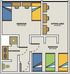 Sandburg Hall University Housing