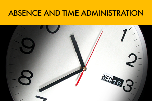 Absence and Time Administration