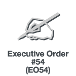 Executive Order 54
