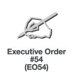 Executive Order 54 (EO54)