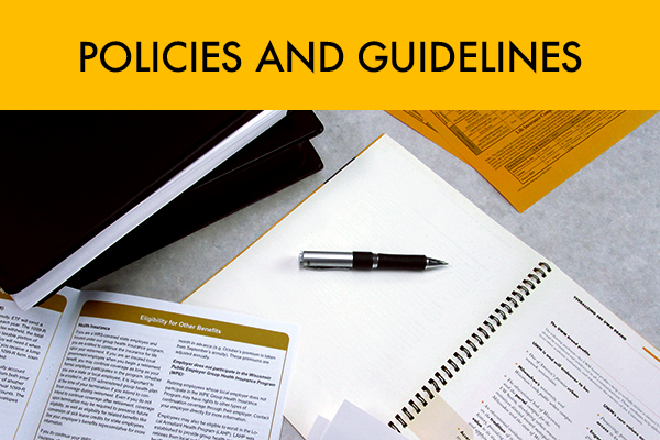 Policies and Guidelines
