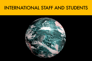 International Staff and Students