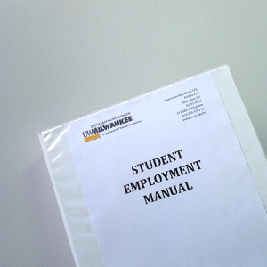 Student Employment Manual